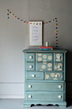 Cute furniture up cycle painting ideas!