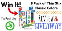 JustAddCoffee- The Homeschool Coupon Mom : Win A Free 6 Pack of Thin Stixs! Review & Giveaway...