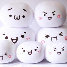 Kawaii Emoticon Kaomoji Kun Adorable Soft Stuffed Plush Cushion Toy Doll 12''