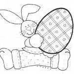 Moldes de coelho para EVA ou Feltro   Revista Artesanato