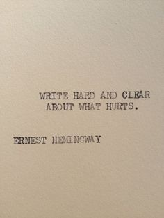 The world could not kill Ernest Hemingway, kids. Only Ernest Hemingway could kill Ernest Hemingway. Great Quotes, Quotes To Live By, Inspirational Quotes, Pretty Words, Beautiful Words, Beautiful Poetry, Beautiful Images, Beautiful Things, Words Quotes