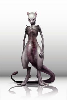 realstic pokemon alt-art mewtwo<---Some of these are REALLY freaky. <- like Mr Mime. Scary Pokemon, Pokemon Realistic, Real Pokemon, Cute Pokemon, Pokemon Fan, Wii U, Charizard Pokemon, Scary Games, Beast Creature