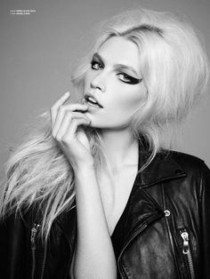 Aline Weber styled by Marco Santini of ION Studio NYC