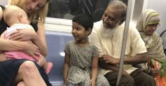This Viral NYC Subway Photo Is What America Is All About   HuffPost