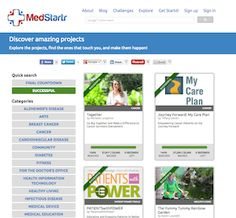 Medstartr: A New Way To Solve Problems, Engage The Community