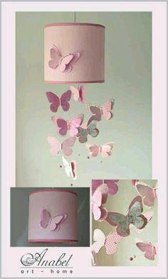 Lámpara mariposas