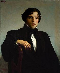 Monsieur M, by William-Adolphe Bouguereau | 1850 - I got you all lovin' the Victorian era now, don't I? :)