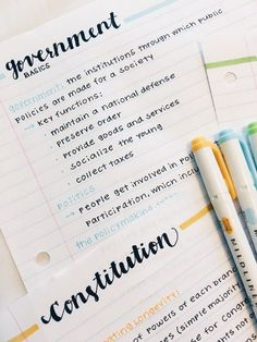 emma's studyblr - notetaking - emma, twenty, uni student about · faq · mobile navi - School Organization Notes, Study Organization, Pretty Notes, Good Notes, Cute Notes, College Notes, Bullet Journal Notes, Class Notes, School Study Tips