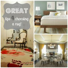 Everything you need to know for choosing, purchasing, and placing a rug!
