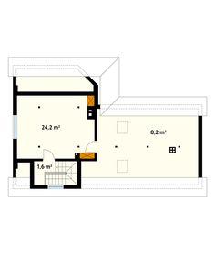 DOM PROJEKT SZYPER 10 DR-ST 125 m² -