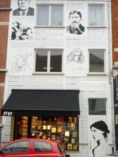 Librairie Ptyx (Rue Lesbroussart, 39 - 1050 Bruxelles)