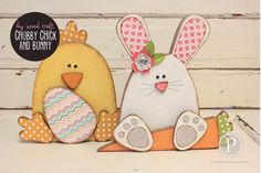 Chunky Chick and Chunky Bunny Wood Craft Kits and unfinished wood pieces are sold at pebblesinmypocket.com. Group buys are available too!