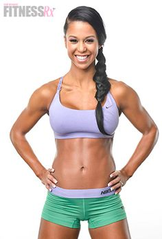 India Paulino: 7 Tips for Abs Plus 15-minute at-home workout. IFBB Bikini Champion India Paulino knows just what it takes to get flat, sexy abs. And even if you feel like you are too busy to get in shape, India's simple tips and exercises are easy to implement into any lifestyle.