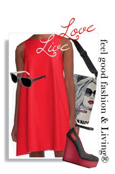 "Live  Love'     My Boho Girl fashion Collection is made to feel Good""     *See 100 more looks'         Feel Good Fashion & Living®    www.marijkeverkerkdesign.nl              Boho Girl A-Line Party Dress,,Boho Girl Sling Bag,  Boho Girl Italian Heels Shoes, designer Sunglasses"