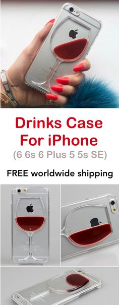 Drinks Case For iPhone 6 6s 6 Plus 5 5s SE