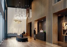 Best Place to find hotel lobby design Plywood Furniture, Design Furniture, Lobby Furniture, Hotel Lobby Design, Design Commercial, Commercial Interiors, Commercial Lighting, Home Luxury, Luxury Houses