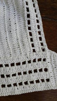 Crochet lace up bikini halter tie up swimmer by EllennJames