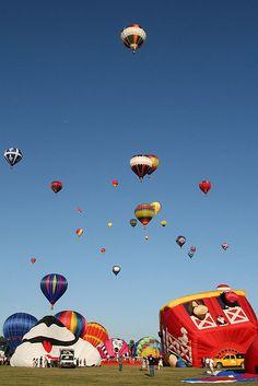festival des montgolfières a Saint-Jean-sur-Richelieu, Québec