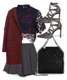Untitled #4310 by amm-xo on Polyvore featuring polyvore fashion style Topshop Zara Stuart Weitzman STELLA McCARTNEY clothing
