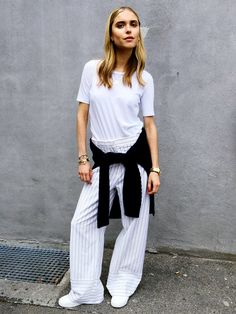 3 Ways to Step Up Your T-Shirt Game via @WhoWhatWear