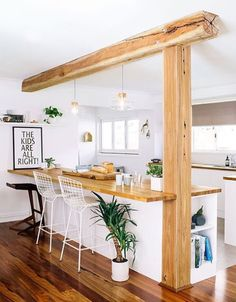 Post and beam idea