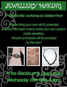 Jewellery Workshop run by Finch: Bespoke and Alternative Jewellery