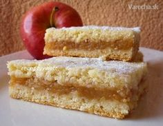 Sweet Desserts, Sweet Recipes, Slovakian Food, Lithuanian Recipes, Sweet Cooking, Czech Recipes, Desert Recipes, Dessert Bars, Cookie Recipes