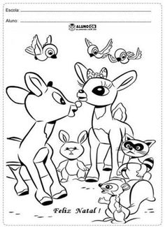 78 Rudolph The Red Nosed Reindeer Printable Coloring Pages For Kids Find On Book Thousands Of