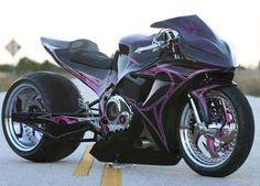 Crotch rocket love the pink webbing design!!!