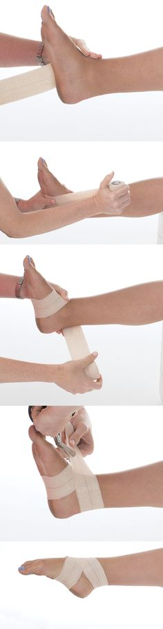 how to make tape for support during dance.