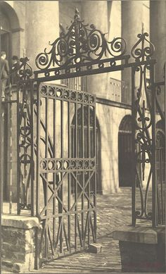 Gateway, City Hall, Charleston, South Carolina - A. D. White Architectural Photographs, Cornell University Library