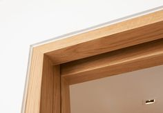 INTERIOR WALL OPENINGS WITH RECESSED OAK FRAME DETAIL - Google Search