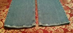 Bling that denim and hem in the sparkle on your favorite pair of blue jeans. Add a little or a lot to your favorite pair of riding britches. Call for a free design consultation, pricing and turn around time.