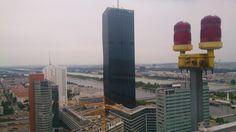 Panorama auf den DC Tower in Wien