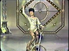 Lilly Yokoi, ballerina on bicycle / Kunstfahrrad / велофигуристка - The Hollywood Palace, host Joan Crawford, air October 9, 1965