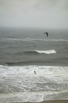 Kite Surfing - OBX is best place in the world to do this, after knee surgery this is allll summer long, so glad I got the beach house