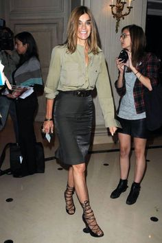 As you have noticed from my blog posts, I think the pencil skirt is the holy grail of workwear for women. I love how simple it is to style it in interesting new ways and it always looks good. One of the reasons I like Carine Roitfeld's style for workwear inspiration is that she wears pencil skirts a lot. See the 30 examples below. She is a master of styling them in fun new ways. Notice the different tops, belts, and shoes she wears with her pencil skirts. The other reason I like followi...