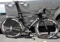 Team Omega Pharma–Quick-Step's Specialized S-Works Shiv TT, Tour of California - 2014