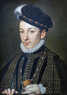 Bemberg Fondation Toulouse - Portrait de Charles IX - François Clouet - Inv.1012 - Hôtel d'Assézat - Wikipedia