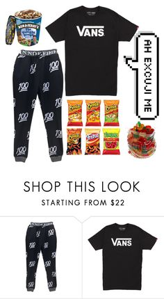 """glump glump"" by laysa-de-oliveira-leite on Polyvore featuring Vans, men's fashion and menswear"