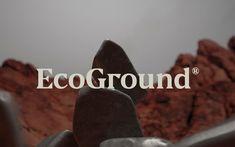 EcoGround on Behance Blog Design Inspiration, Photoshop, Behance, Branding, Brand Identity, Logos, 2d, Palette, Typography