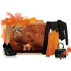 """Lightning Before the Storm"" by jessicaleila on Polyvore"