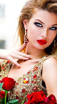Tarik Ediz-red and gold gem 2014