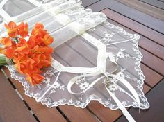Table Runner wedding tabletoper romantic by ClassyInteriorsDeco