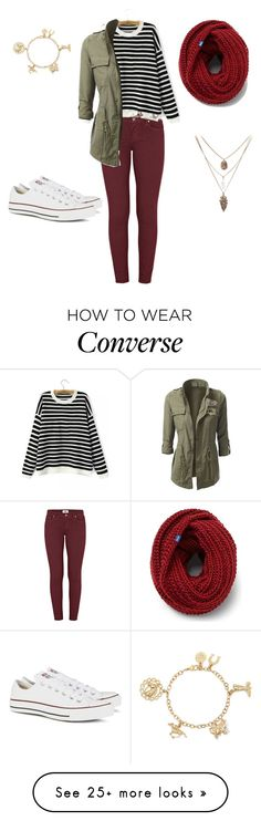 """#072"" by avafields02 on Polyvore featuring Paige Denim, Converse and Keds"
