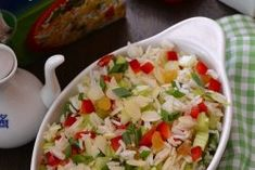 salata de legume cu orez basmati