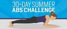 30-Day Summer Abs Challenge