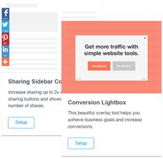 AddThis - Get likes, get shares, get followers