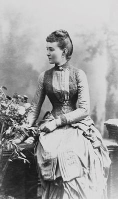 Princess Louise Margaret of Connaught, nee Princess of Prussia; 1887.