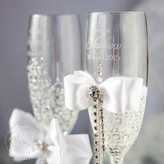 Bride and groom glasses diy sweepstakes